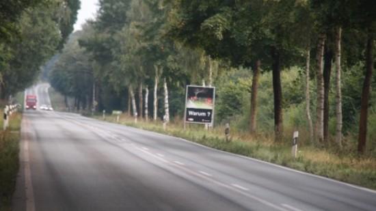 Foto: B 51 zwischen Kätingen und Bassum