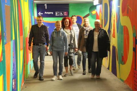Foto: SPD-Fraktion besichtigt Bahnhofstunnel