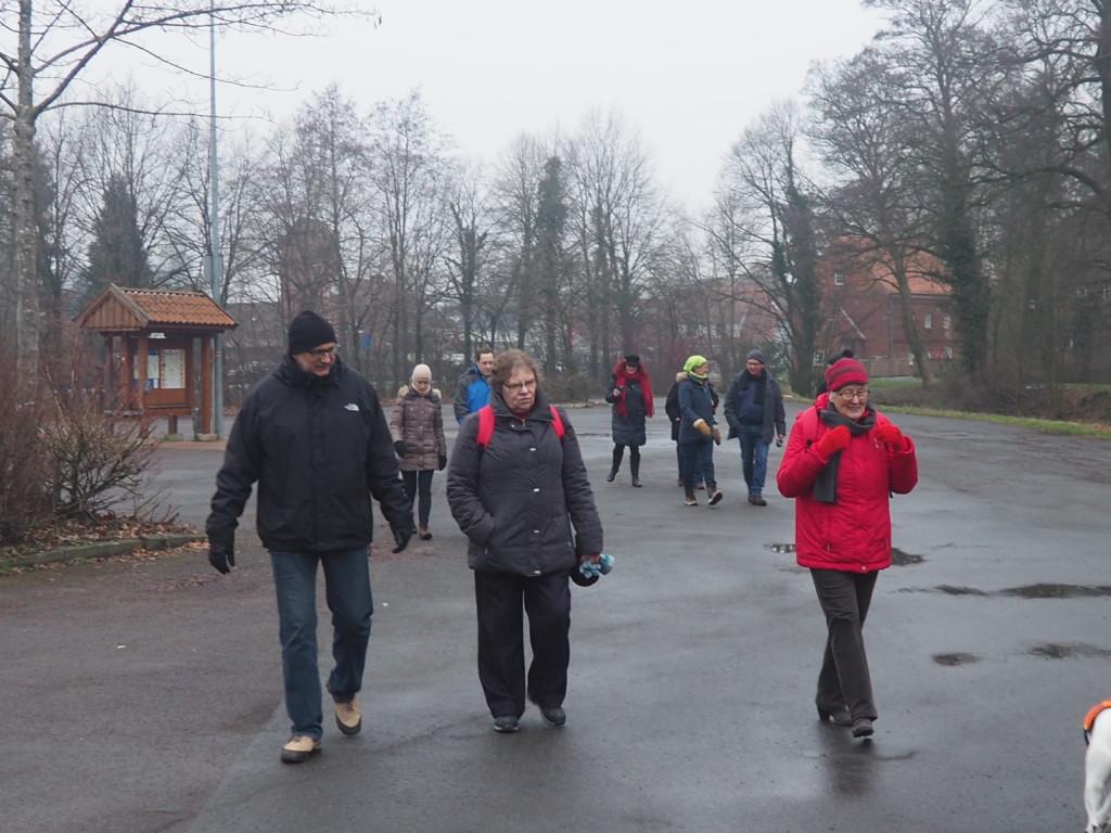 Foto: SPD in Bassum Winterspaziergang