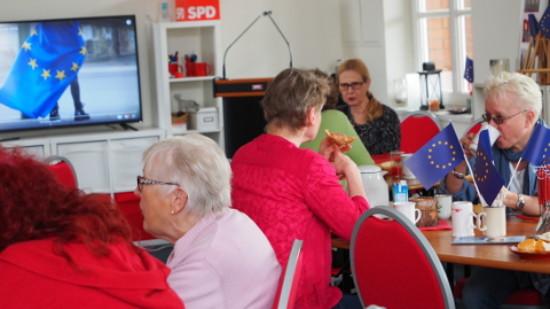 Foto: Mitgliederversammlung SPD in Bassum am 6.4.2019
