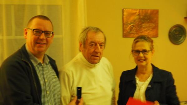 Maik Dannemann, Heinz Neujahr und Luzia Moldenhauer
