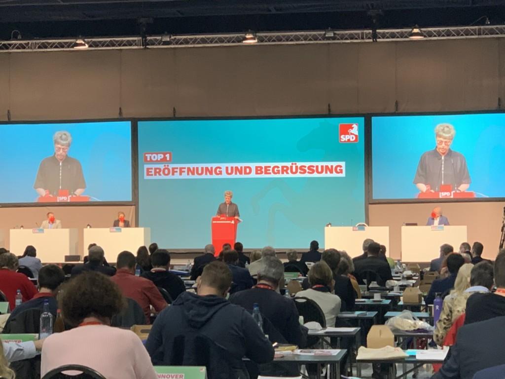 SPD Landesparteitag - Eröffnung