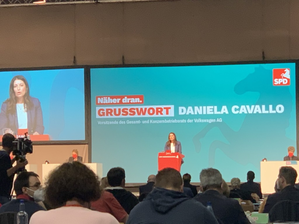 Landesparteitag - Daniela Cavallo