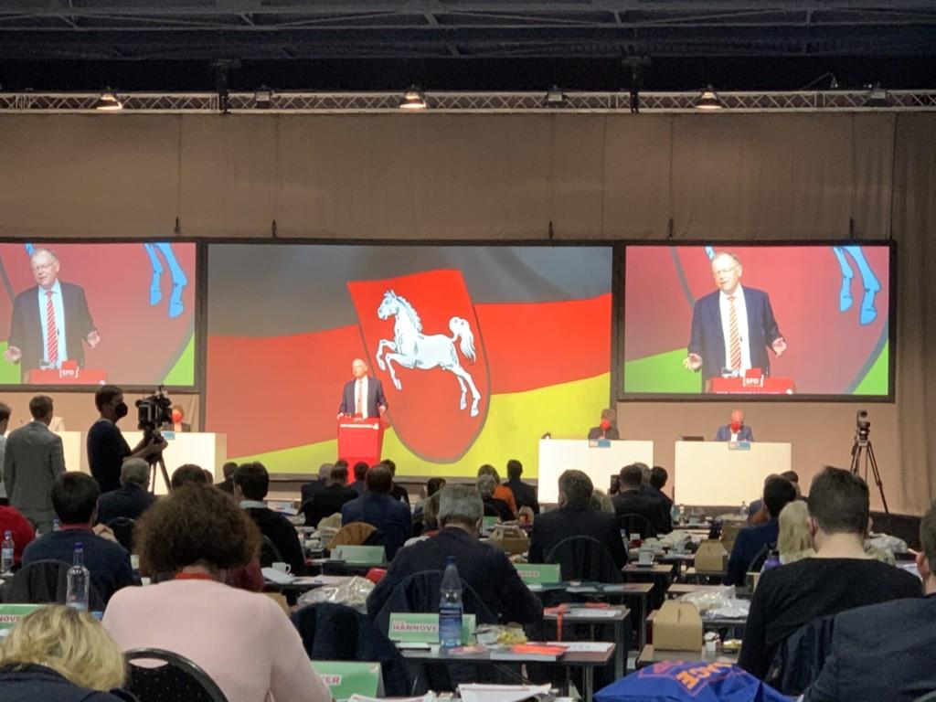 SPD Landesparteitag - Stephan Weil